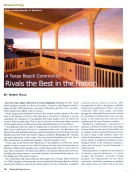 Islander Magazine Feb 2010 Article on Beachtown - Page 1