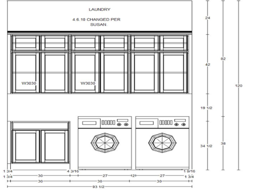 Cabinet elevations beachtown dream home for Kitchen cabinets elevation